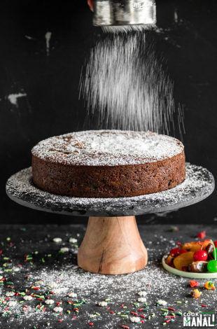 eggless fruit cake
