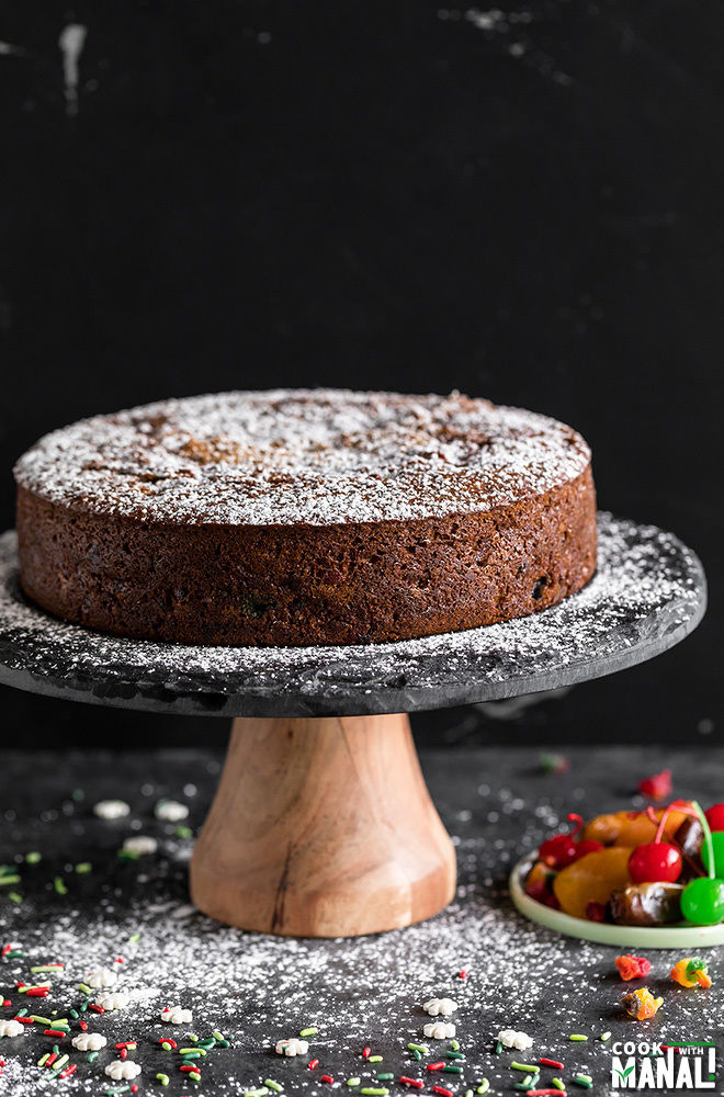 Eggless Fruit Cake Cook With Manali