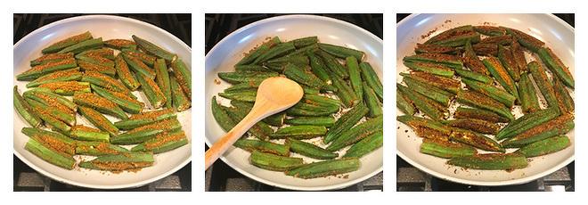 how to cook bharwa bhindi