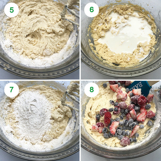 step pictures to make instant pot cake