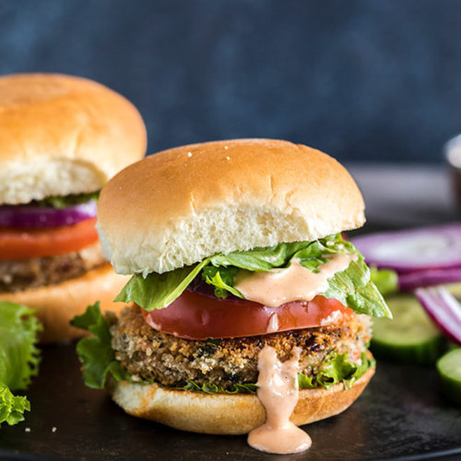Vegetarian Burger Indian Style Cook With Manali