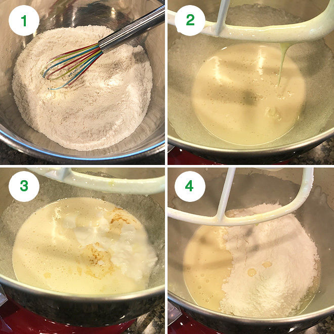 step by step pictures to make easy strawberry cake