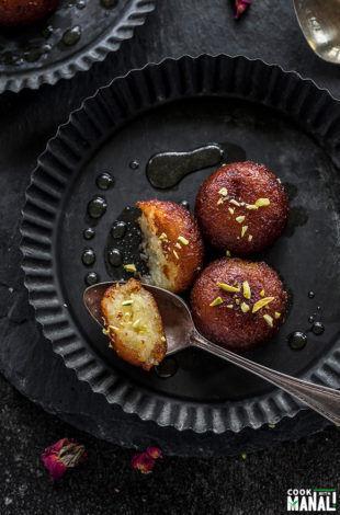 Vegetarian food blog fresh vegetarian recipes from scratch cook gulab jamun forumfinder Image collections