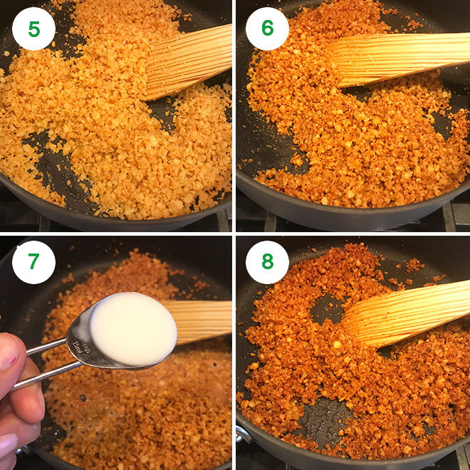 step by step pictures of making mathura peda