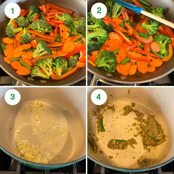 vegan thai green curry recipe step by step pictures
