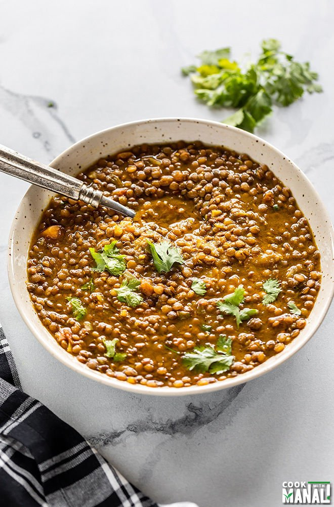 Whole Masoor Dal - Cook With Manali