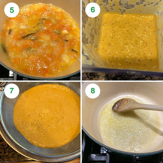 step by step picture collage of making malai kofta at home