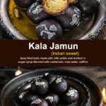 pinterest graphic for kala jamun