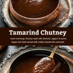 pinterest graphic for tamarind chutney