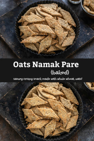 pinterest graphic for oats namak pare