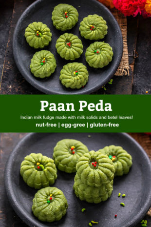 pinterest graphic for paan peda