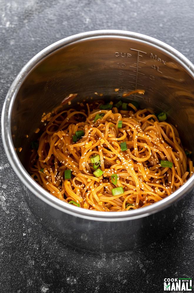 noodles in instant pot